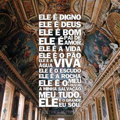 """[[MORE]]""""O verdadeiro adorador adora pelo que Deus é, não pelo que Ele faz ou possui. Ele é digno, Ele é Deus, Ele é bom, Ele é Pai de amor, Ele é a vida, Ele é o pão, Ele é a água viva, Ele é o escudo, Ele é a rocha, Ele é o meu louvor, a minha..."""
