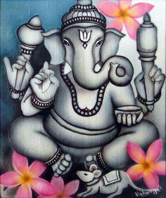 Grey Ganesha