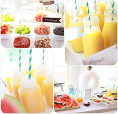 Cute breakfast party ideas with printables