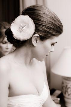 New Year's Eve wedding in Santa Barbara, California #hairstyle