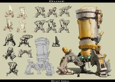 concept robots: Concept mech art by Bryant Koshu ✤ || CHARACTER DESIGN REFERENCES | Find more at https://www.facebook.com/CharacterDesignReferences if you're looking for: #line #art #character #design #model #sheet #illustration #expressions #best #concept #animation #drawing #archive #library #reference #anatomy #traditional #draw #development #artist #pose #settei #gestures #how #to #tutorial #conceptart #modelsheet #cartoon #vehicle #blueprint @Rachel Oberst Design References