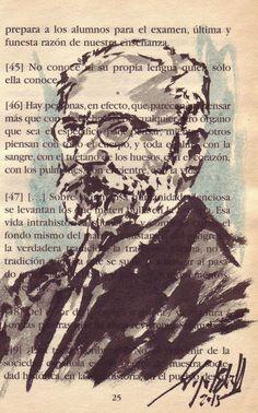 MIGUEL DE UNAMUNO   MIGUEL ELIAS http://cuadernosdepintor.blogspot.com.es/
