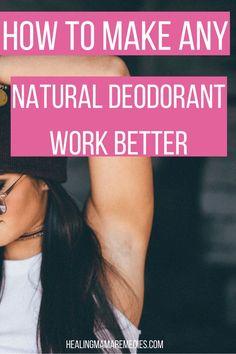 Natural Deodorant, D