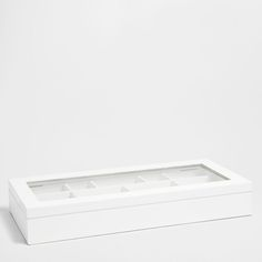 Box with compartments | great for storing my crystals | $119 | Zara Home