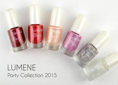 Lumene Gel Effect Nail Polish party shades for Holiday season 2015, photographed by blogger ZigiZtyle. #nailpolish #lumene