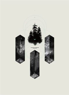 Pillars Of Creation by Amanda Mocci