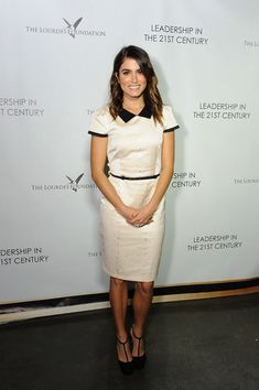Nikki Reed Photos - Actress Nikki Reed attends a Q&A With Ann Curry courtesy of the Lourdes Foundation at the California Science Center on February 26, 2014 in Los Angeles, California. - Q&A with Ann Curry in LA