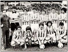 EQUIPOS DE FÚTBOL: REAL VALLADOLID contra Sabadell 21/10/1979 Liga de 2ª División
