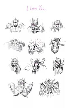What the Autobot's reactions would be if you said 'I love you' to them…