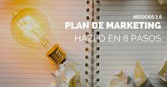 Cómo hacer un plan de marketing digital para Pymes en 8 pasos #DRMSocialMedia #SocialMedia #MarketingDigital