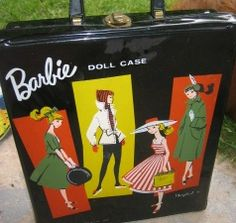I LOVED Barbie! Still have this case and original Barbie.