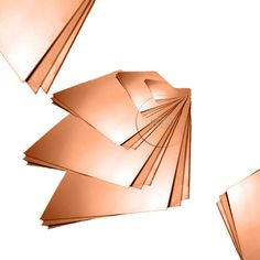 BRUSHED COPPER SHEET Square 1.2mm 18/'s swg Thick Guillotine Cut New Metal Plate