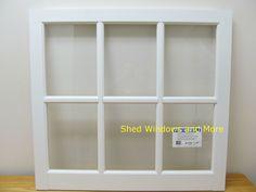 "31"" x 29"" Barn PVC Window - Shed Windows and More, Inc."