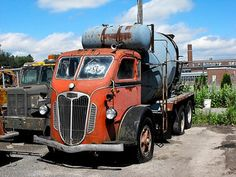 For those of us who model in this is our ultimate dream truck along with a Divco for our layouts or diaramas Dump Trucks, Cool Trucks, Big Trucks, Pickup Trucks, Cement Mixer Truck, Train Truck, Concrete Mixers, Cab Over, Heavy Truck