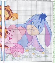 @Vicki Smallwood Van Gilder - or this one....Winnie the Pooh cross stitch #2