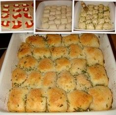 Quick Stuffed Pizza Rolls. I can't wait to try this recipe