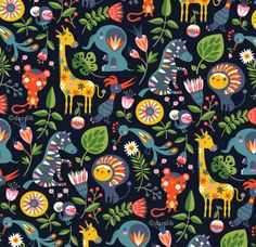 Helen Dardik's patterns are always cute, colorful and adorable!