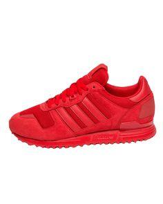 Genuine Adidas ZX 700 All Red Pretty cheap £55.60