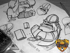 Fronton | Soccer Six on Behance