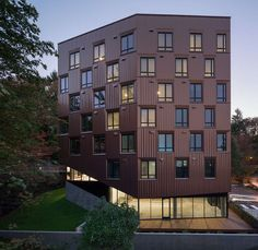 Treehouse is a 7-story 69 unit multi-family apartment building located on a steep forested site on the Marquam Hill campus of the Oregon Health & Science Uni...