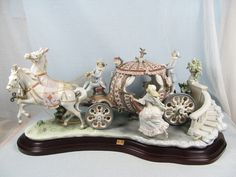 "Lladro ""at The Stroke of 12"" Twelve Cinderella's Coach 1493 | eBay"