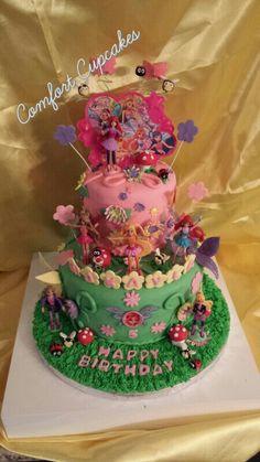 Winx club birthday cake