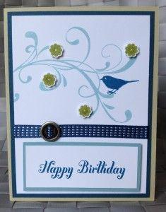 Stampin Up Masculine Birthday Everything Eleanor Stamp
