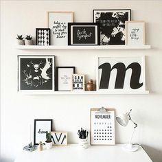 Framed inspirational quotes are perfect for any workspace. Get the Look http://www.profileproducts.com.au/shop/matted-timber-photo-frames/?primary=timber-photo-frames-wooden-picture-frames