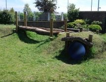 natural mound playspace - Google Search