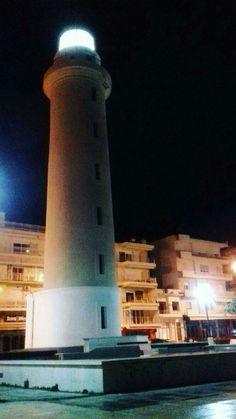 #Alexandroupoli #Greece #night #lighthouse