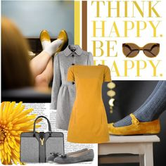 """""""Passion for Yellow..."""" by ornellav on Polyvore"""