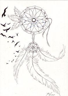 Desenho perfeito para fazer uma tatuagem.