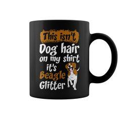 Mug BEAGLE Glitter Lady Grandpa Grandma Dad Mom Lady Man Men Women Woman Girl Boy Dog Lover