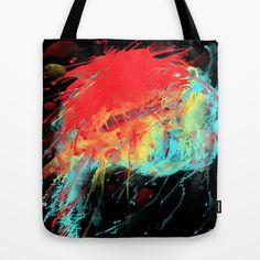 Cerebrain ene Tote Bag by DizzyNicky - $22.00