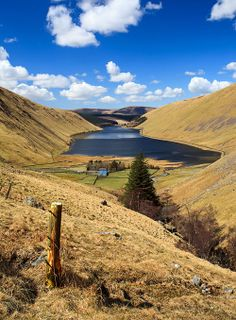 Spring Sky over Talla, a photo from Scottish Borders, Scotland - wild land once roamed by the Border Reivers.