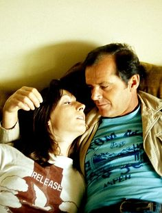 Jack Nicholson and Anjelica Huston, 1976.