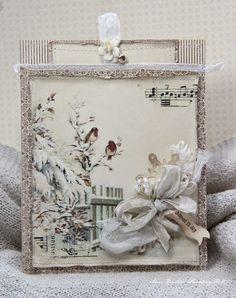 New Christmas papers from Pion Design - Winter birds.... (via Bloglovin.com )