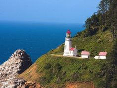 Heceta Head Light is listed (or ranked) 4 on the list The Most Awe-Inspiring Lighthouses in the World