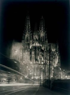 Cathedral Illumination, 1930, August Sander. Germany (1876 - 1964)
