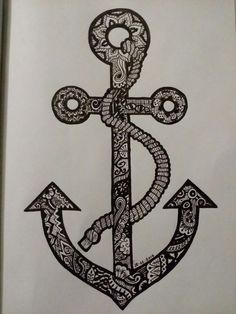 Anchor doodle
