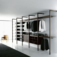 High Quality Modern Minimalist Walk In Closet Innovative Design, Cabina Armadio By Porro    Home Design Inspiration