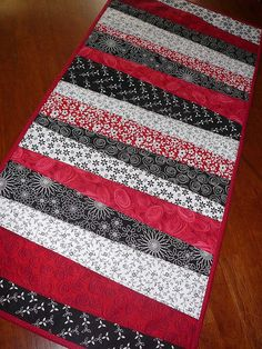 Christmas Table Runner #3 by mini_milly04, via Flickr