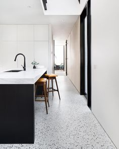 """609 Likes, 19 Comments - Cera Stribley Architects (@cerastribleyarchitects) on Instagram: """"York St House // The skylight above the kitchen area allows natural light to stream through the…"""""""