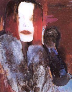 the gilrfriend. Marlene Dumas