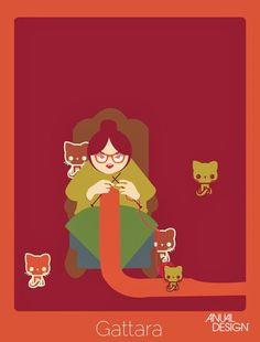 PALAVRAS SEM TRADUÇÃO VIRAM IMAGENS - ANUAL DESIGN ( abriga gatos de rua)