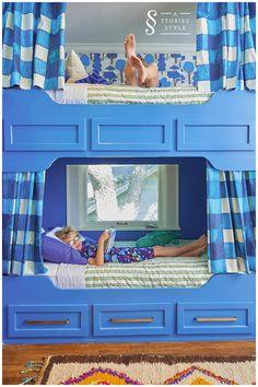 boys bunk bed room