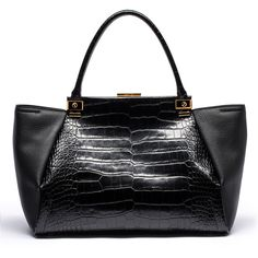 Lanvin Trilogy Tote ($2,590) ❤ liked on Polyvore