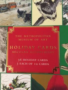 Christmas Cards Set Of 30 Metropolitan Museum Of Art Non Religious 12 Different