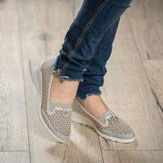 Pantofi Casual Daian Grey