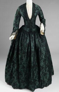 1850–55 Culture: American Medium: silk